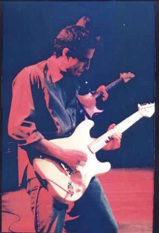 paulo noronha no primeiro cesma in blues, imagem usada para a identidade visual das últimas 2 edições