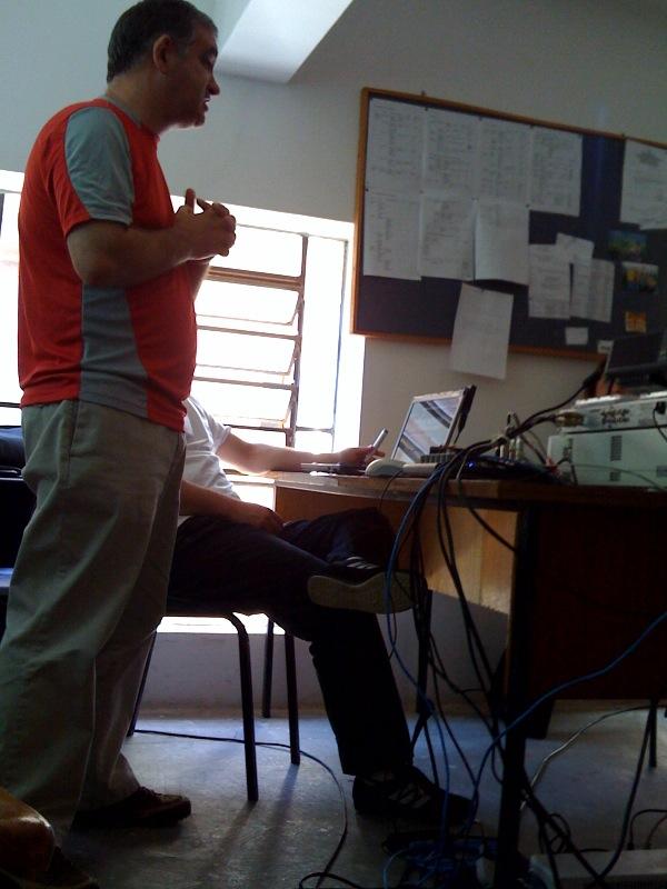 paulo_tavares falando sobre a produção